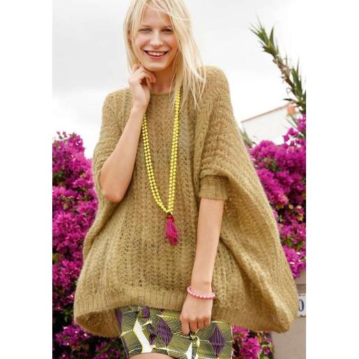Pulover tricotat Suri Alpaka