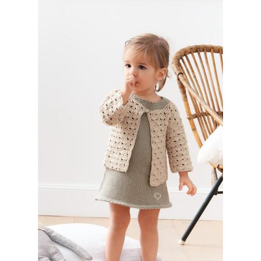 Rochiță și jachetă Soft Cotton