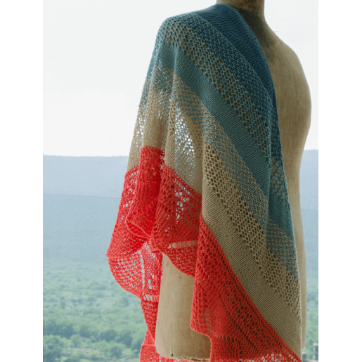 Șal tricotat Alfama