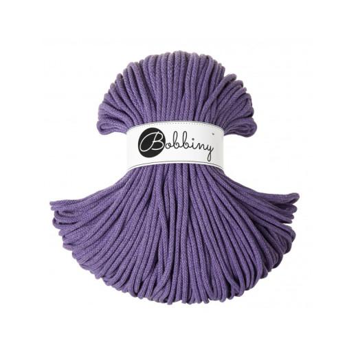 Șnur tubular clasic Bobbiny Premium, 5 mm - Ultraviolet