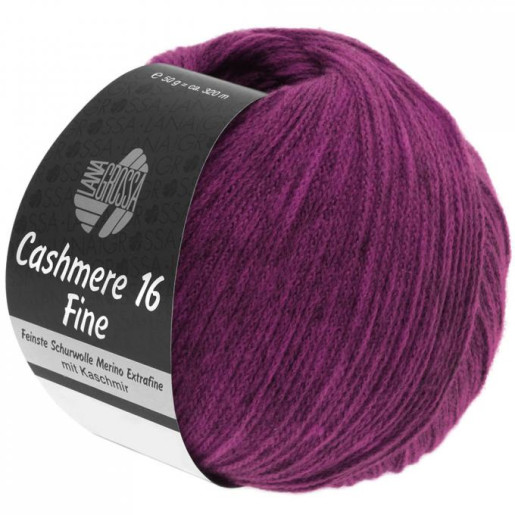 Cashmere 16 Fine, Roz fucsia