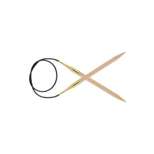 Andrele circulare de mesteacăn KnitPro, 60 cm