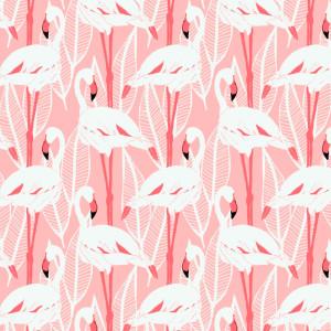 Bumbac Canvas, model Flamingo
