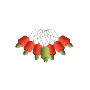Marcatoare de colecție Zooni, model Orange Lily