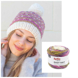EASY HAT - kit de tricotat căciulă