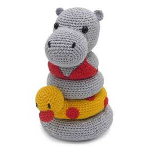 HELGA HIPPO - kit de croșetat jucărie