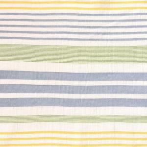 Țesătură Panama, model Green Stripes