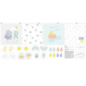 SKY RHINOS - kit de cusut jucării și pernuțe