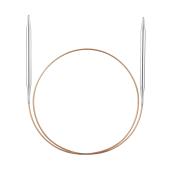 Andrele circulare de alamă Addi Premium, 80 cm - 5 mm