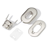 Sistem de inchidere pentru genți - argint
