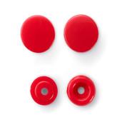 Capse colorate, 12.4 mm - roșu