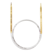Andrele circulare de plastic, Addi - 7 mm