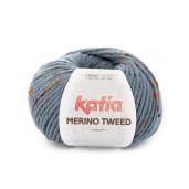 Merino Tweed, Albastru jeans