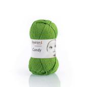 Candy, bumbac cu cașmir - Verde