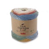Fair Cotton Craft, Bej Cărămiziu Galben pai Gri