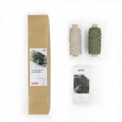 FORMENTERA - kit de impletit geantă-plic