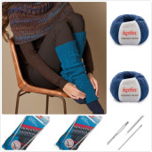 Kit de tricotat jambiere