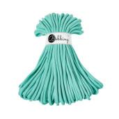 Șnur tubular gros Bobbiny Jumbo, 50 m - Verde mentă pastel