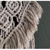 Detaliu decor perete din șnur clasic pentru macrame Bobbiny, 3 mm