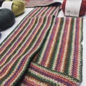 Fular tricotat - Camwool