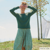Pulover damă tricotat Cotton-Yak