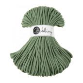 Șnur tubular clasic Bobbiny Premium, 5 mm - Verde eucalipt