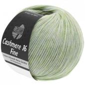 Cashmere 16 Fine, Verde pastel grizonat