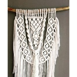 Decor perete macrame